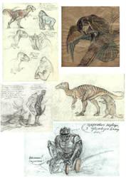 Sketchdump Beast Wars by Unita-N