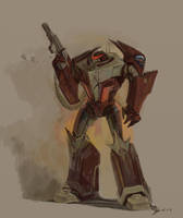 SFA: armored Demitrius concept by Unita-N
