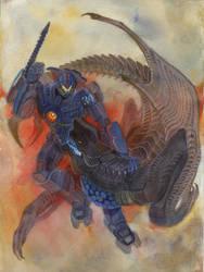 Commission Pacific Rim: The clash by Unita-N