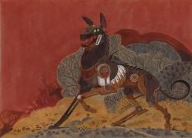 Cemetery World: Robo-wolf + Speedpaint! by Unita-N