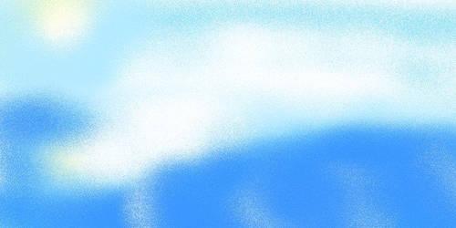 an easy ocean flowing by MegaDefender