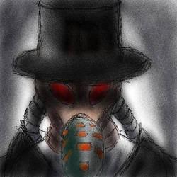 Gas mask man 1 npc by MegaDefender