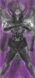 marked metal angel by MegaDefender