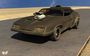 Interceptor Road Warrior by darthhell