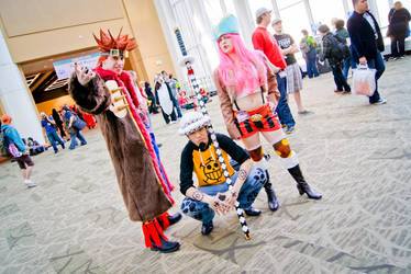One Piece at Sakura Con 2012 by Cossu-Bossu