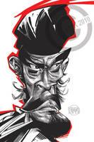 Toshiro Mifune by RussCook