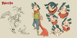 Pinocchio chara 1 by Djetho