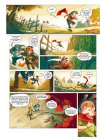 Pinocchio page 1 by Djetho