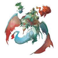 new dragon lotus by Djetho