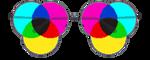 CMYK Glasses by kicked-in-teeth