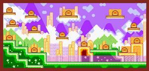 Kirby Nightmare in Dreamland: Yogurt Yard by kicked-in-teeth