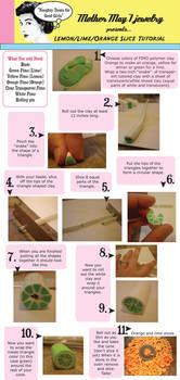 lemon , lime, orange tutorial by MotherMayIjewelry