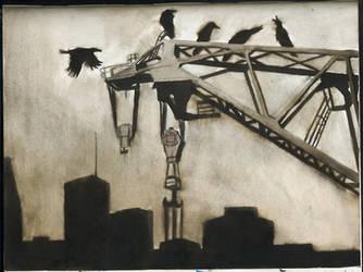 Les corbeaux restent by kokikok