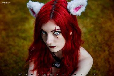 Kitty Cat Katarina Cosplay - League of Legends by ddenizozkan