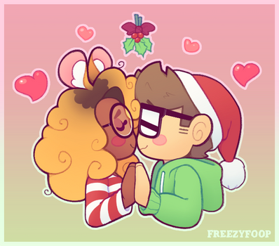 Bunny Kisses by FreezyFoop