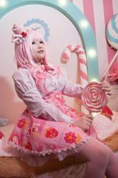 Pink girl by o0oFairyo0o