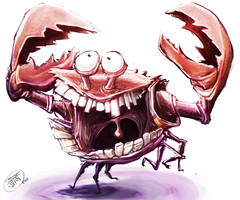 Crab-in-it-up! by MightyCoco