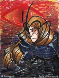 Sauron by TheonenamedA
