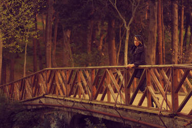 On Bridge by brokensticksorginalo