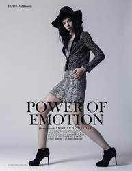 Power Of Emotion - Ellements Magazine December by brokensticksorginalo
