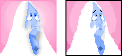 Look at the difference! feat.Blue Diamond Portrait by Azulors