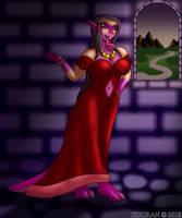 Dragon Princess Silvenya by Jesoran