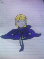 Violet as Raven by MrS-aRtIsAn