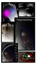 CreepyPasta Comic Part : 1 -- Raven by BluScoutit