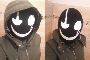 My Gaster Cosplay by BluScoutit