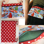 belt bag purse by andricongirl