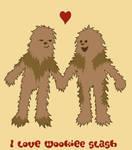 I love Wookiee slash by andricongirl
