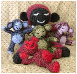 monkeys by andricongirl