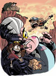 Attack on Robo Gideon by mariods
