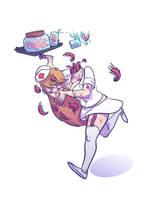 Nurse Myriapoda by BattlePeach