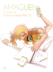 Amague! chapter4 cover by thelastpierrot