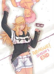 Amague! Chapter 11 cover by thelastpierrot