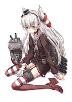 Amatsukaze by famepeera