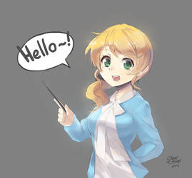 Ellen Baker (Normal Version) by ClearEchoes