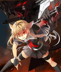 Yuudachi, Final showdown by ClearEchoes