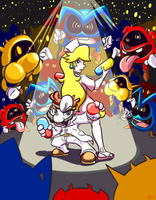 Dr Mario: Pandemic by cavemonster