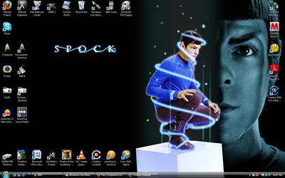 Desktop Screenshot-Spock by The-Companion
