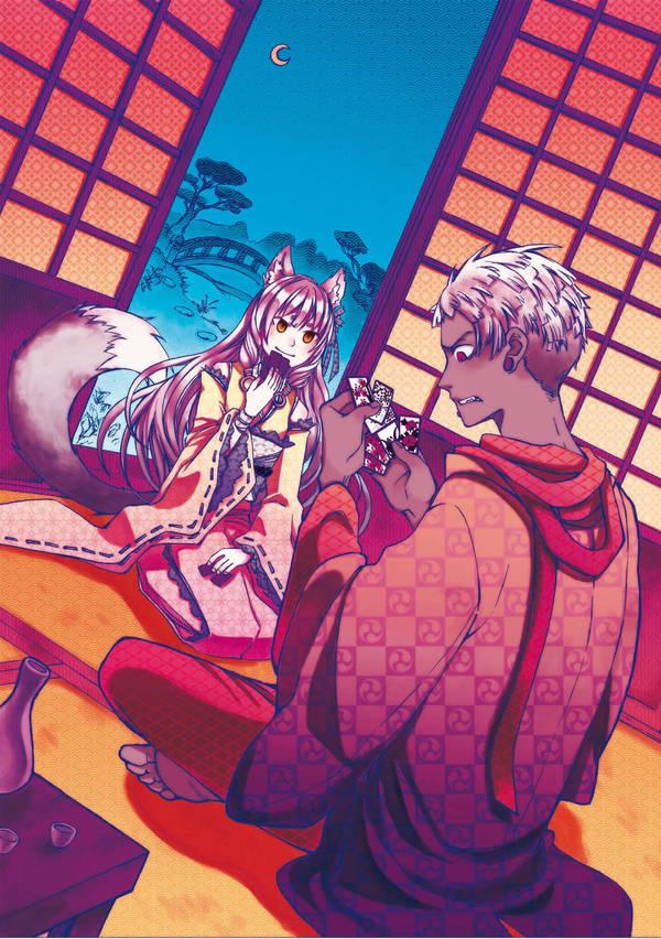 Kuro-E Challenge - Hanafuda by marendins
