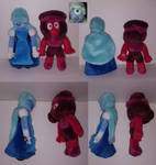 Ruby and Sapphire (commission) by Charitynorn