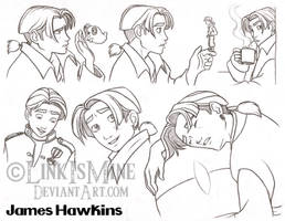 James Hawkins Sketches by LinkIsMine