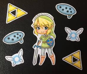 Legend of Zelda Stickers by LinkIsMine