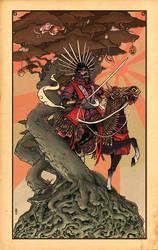 Toyotomi Hideyoshi by TheWoodenKing