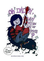 Marceline the Vampire Queen by TheWoodenKing