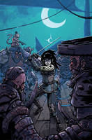 AMALAS BLADE #0 cover by TheWoodenKing