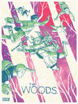 THE WOODS Limited screen print by Secret Panel by TheWoodenKing