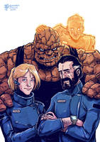 HMS FANTASTIC4 crew by TheWoodenKing